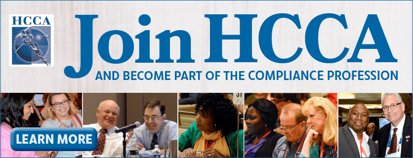 Join HCCA, a welcoming, practical, supportive, dynamic, helpful organization