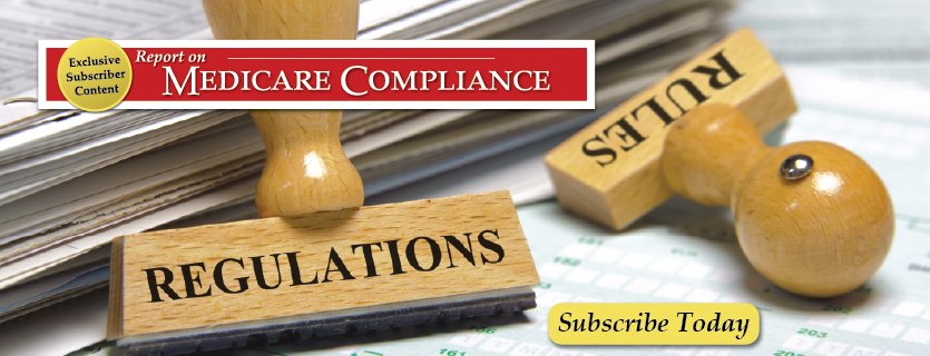 Learn more about Report on Medicare Compliance