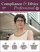 Compliance and Ethics Professional 09/16 cover
