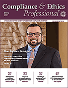 Compliance and Ethics Professional 01/17 cover