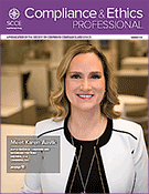 Compliance and Ethics Professional 01/18 cover