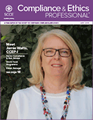 Compliance and Ethics Professional 05/18 cover