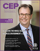 Compliance and Ethics Professional 01/19 cover