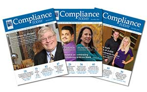 Compliance Today Covers