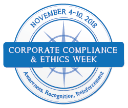 Corporate Compliance and Ethics Week Logo