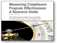Measuring Compliance Program Effectiveness: A Resource Guide