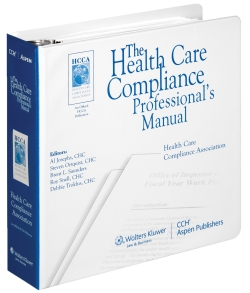 Healthcare Compliance Professional's Manual