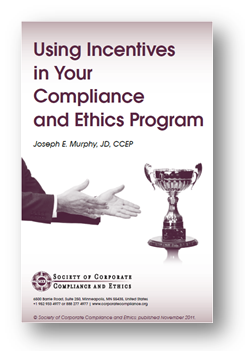 Using Incentives in Your Compliance and Ethics Program cover